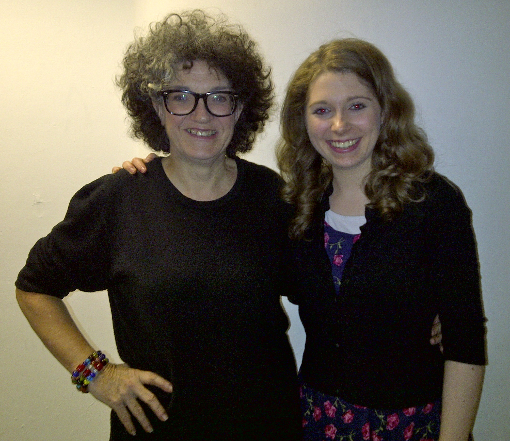 Image of Kate Copstick and Sara Shulman