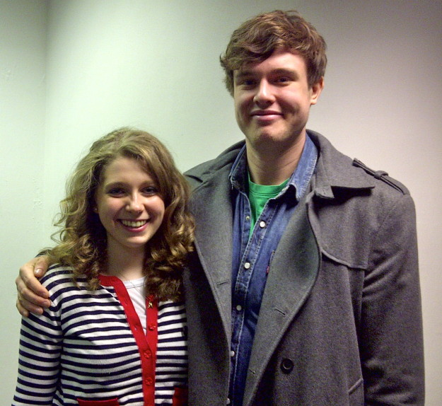 Ed Gamble and Sara Shulman