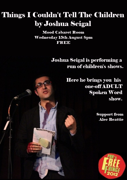 Joshua Seigal Flyer