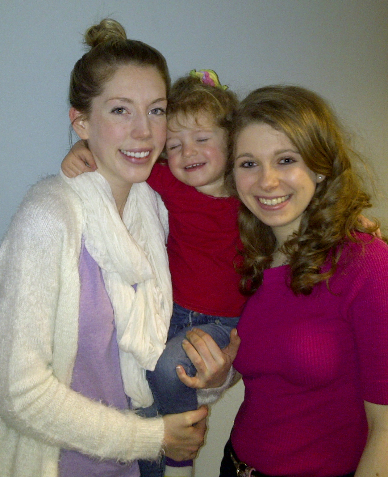 Image of Katherine Ryan, Violet and Sara Shulman