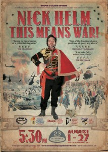 Nick Helm - This Means War photo
