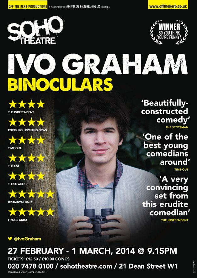 Ivo Graham at Soho Theatre