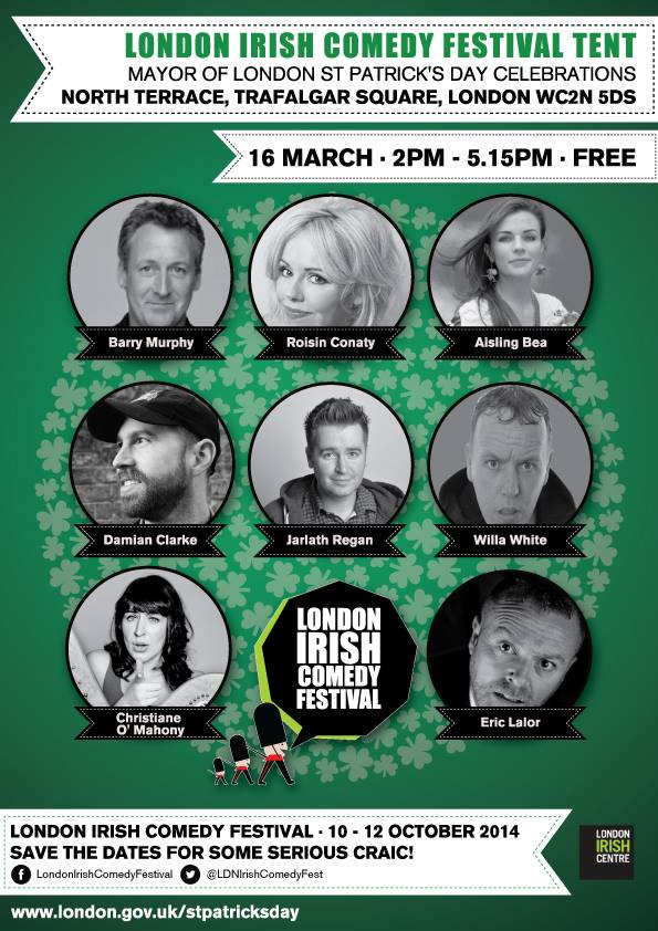 London Irish Comedy Festival
